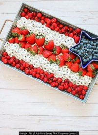 Patriotic 4th Of July Party Ideas That'll Impress Guests 12