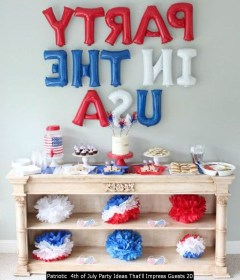 Patriotic 4th Of July Party Ideas That'll Impress Guests 20