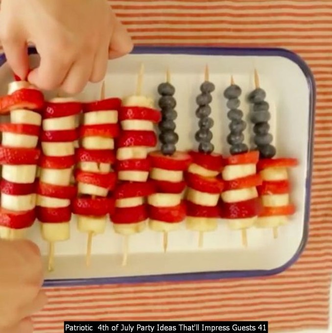 Patriotic 4th Of July Party Ideas That'll Impress Guests 41