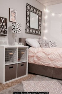 Unordinary Bedroom Design Ideas For Teenage Girl 02