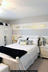 Unordinary Bedroom Design Ideas For Teenage Girl 03