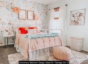 Unordinary Bedroom Design Ideas For Teenage Girl 15