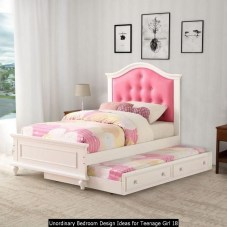 Unordinary Bedroom Design Ideas For Teenage Girl 18