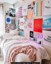 Unordinary Bedroom Design Ideas For Teenage Girl 32