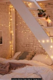 Unordinary Bedroom Design Ideas For Teenage Girl 41