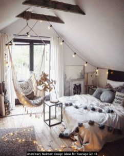 Unordinary Bedroom Design Ideas For Teenage Girl 43