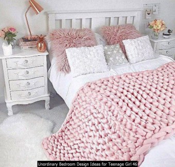 Unordinary Bedroom Design Ideas For Teenage Girl 46