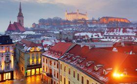 Credits. Bratislava photo by Tomas1111/123rf