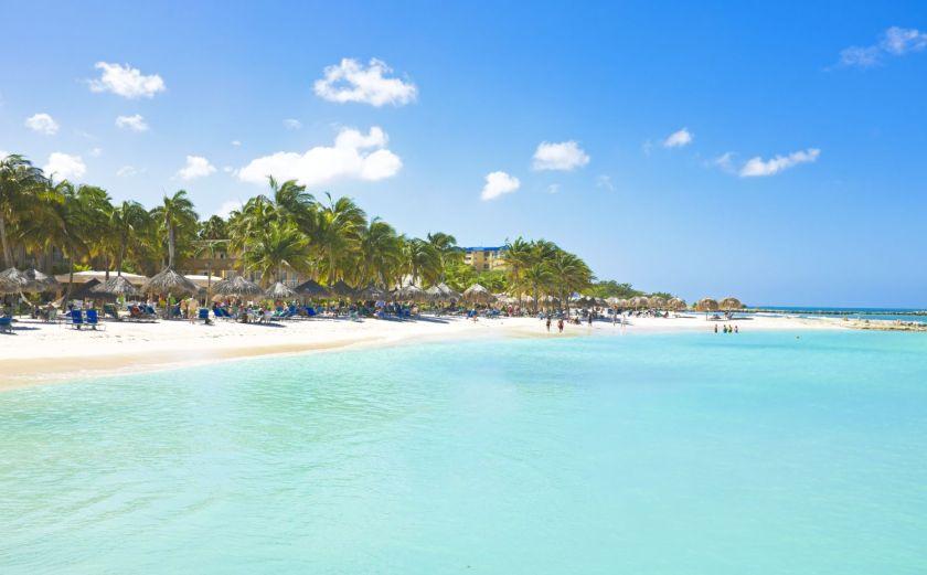 credits. Aruba by devi/can stock photo
