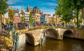 credits. Amsterdam by SBorisov/can stock photos
