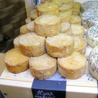Выдержанный козий сыр «Нуар»