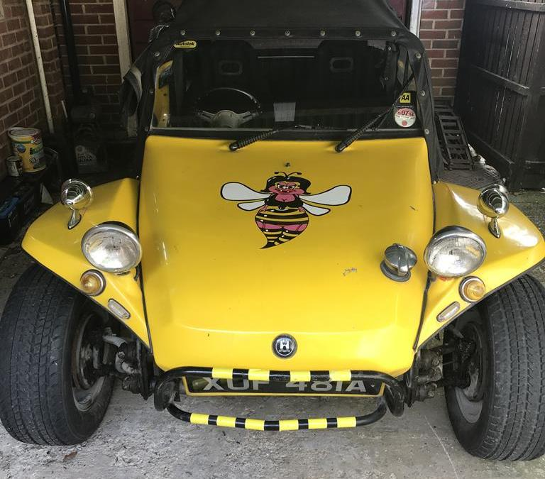 1962 VW Beach Buggy Rolling Resto Project