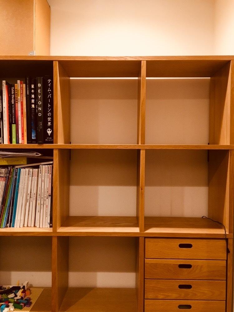 片づけ 整理 収納 きれいに すっきり 本棚 無印良品
