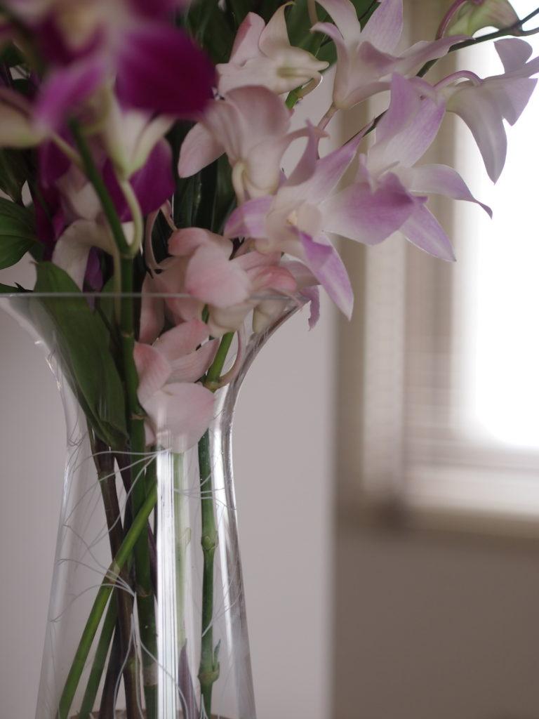花 フラワーベース 花瓶 おしゃれ 北欧 ローゼンダール ガラス