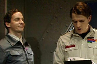 Chris Barrie and Robert Bathurst