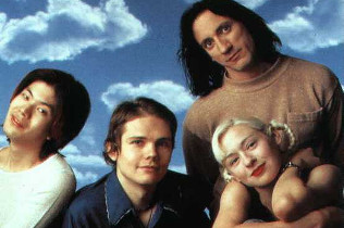 James Iha, Billy Corgan, Jimmy Chamberlin and D'Arcy Wretzky