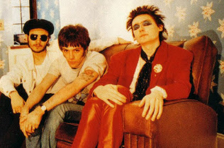 James Dean Bradfield, Richey Edwards and Nicky Wire
