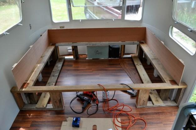 Bed Build Progress