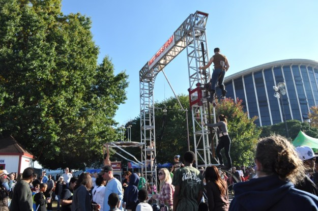 acrobatic contraption