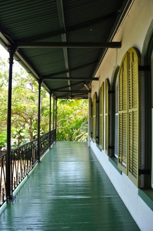 Hemingway balcony