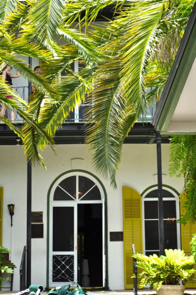 Hemingway House Entrance