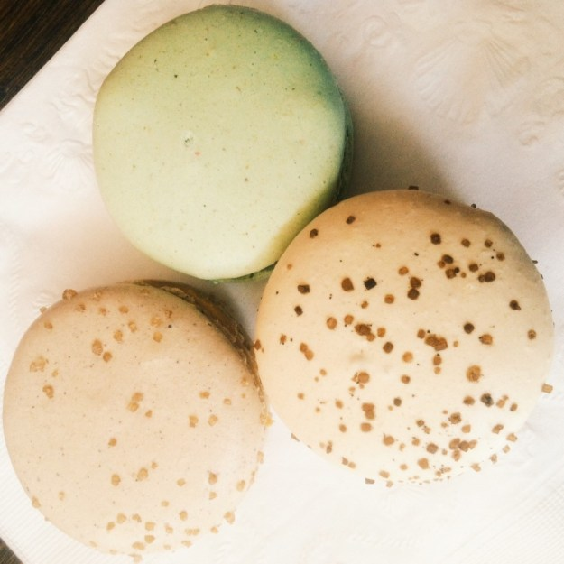 The best macarons from Maison de Macarons. The cappuccino was insane.