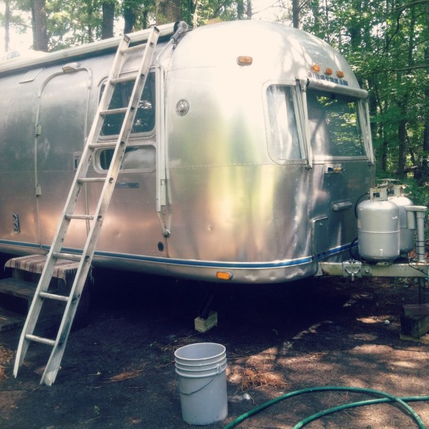 Cleaning the Airstream
