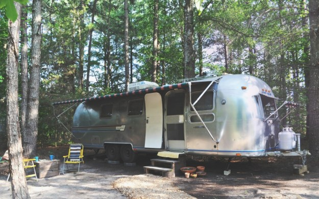 Airstream in the woods copy