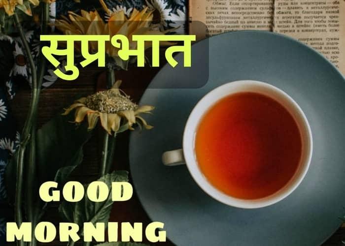 गुड मॉर्निंग फोटो - Good Morning Images in Hindi