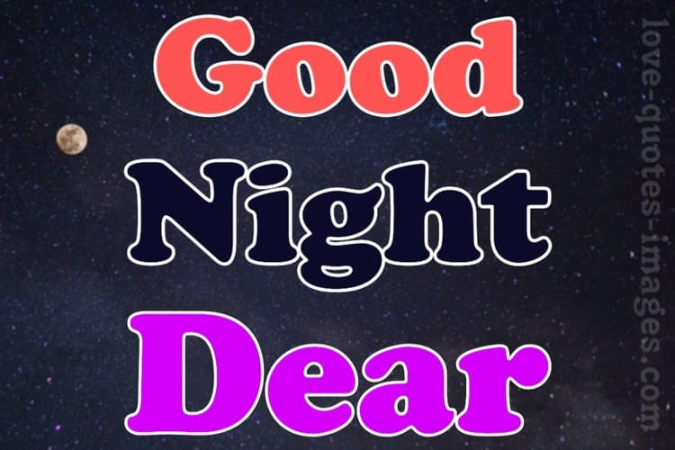 good night msg