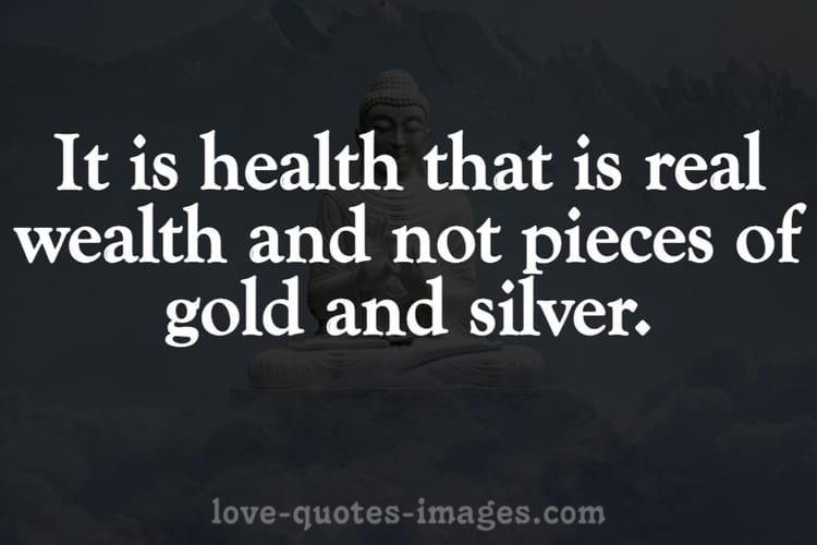 quotes on health is wealth