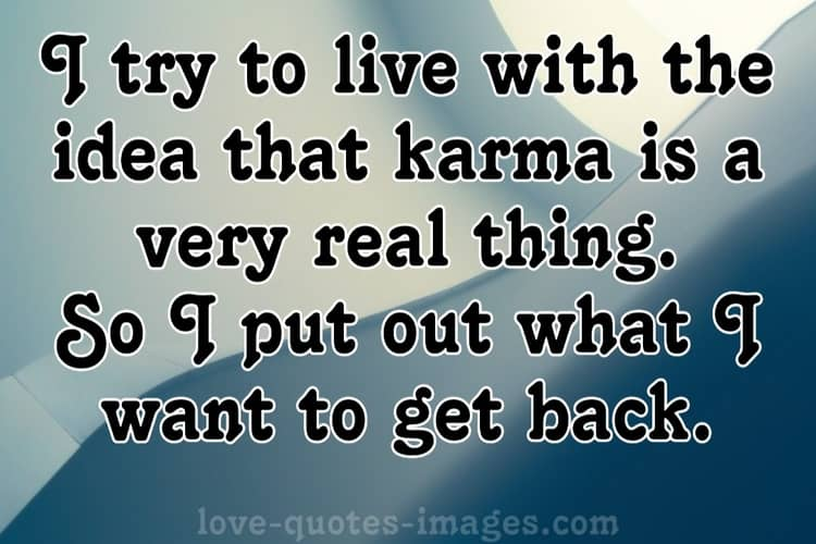 short karma quotes