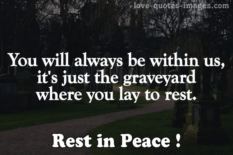 rest in peace death quotes