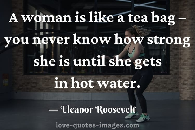 the power of a woman quotes