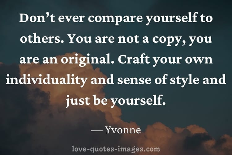 about being yourself quotes