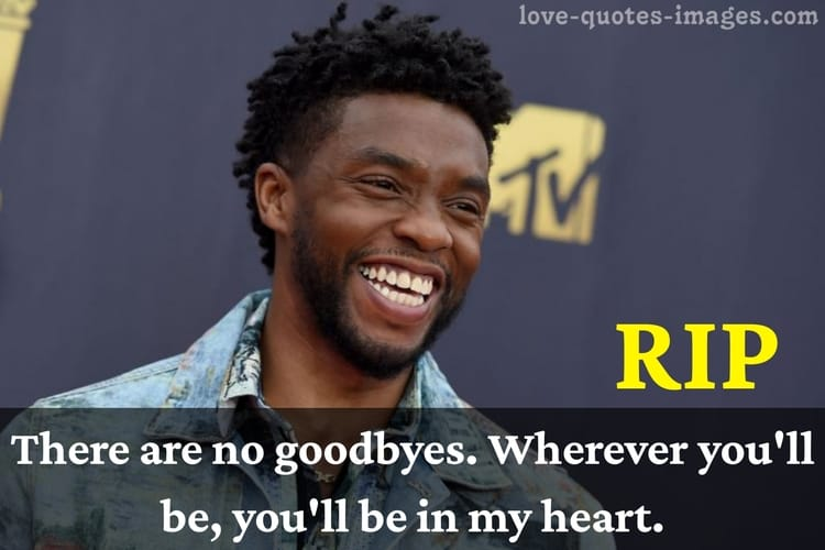 Rest in peace Chadwick Aaron Boseman (Black Panther)