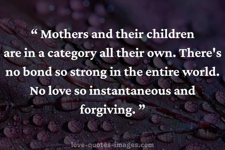 mothers quotes about sons