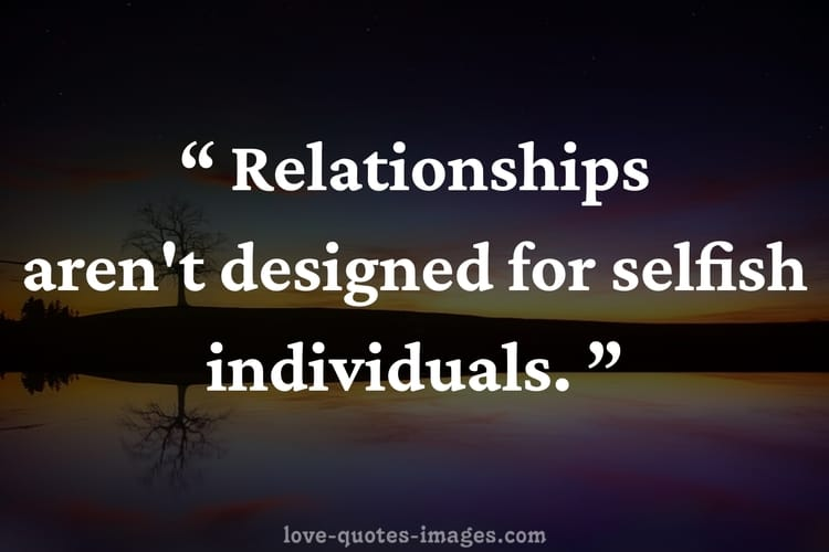 selfish friends quotes