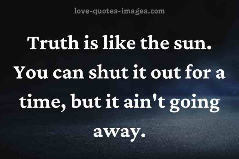 truth quotes life