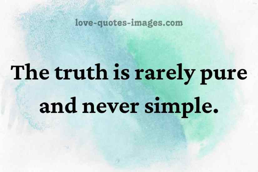truth quotes of life
