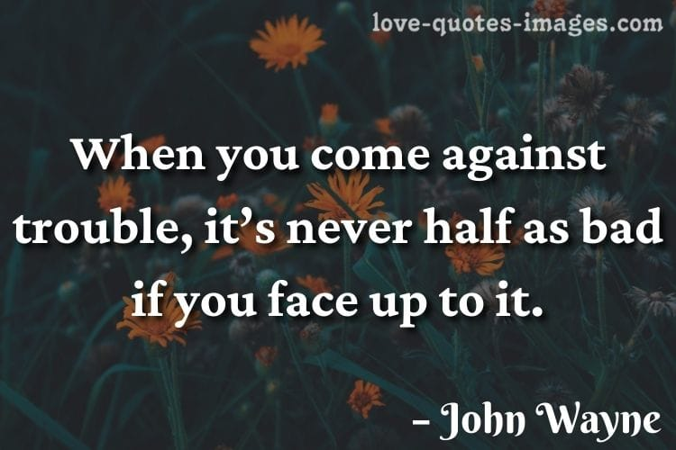 john wayne quotes from true grit