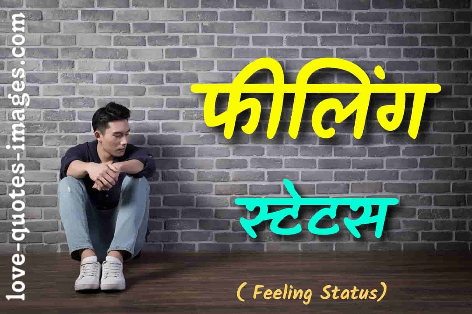 feeling status in hindi