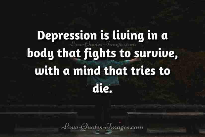 suicidal depression quotes