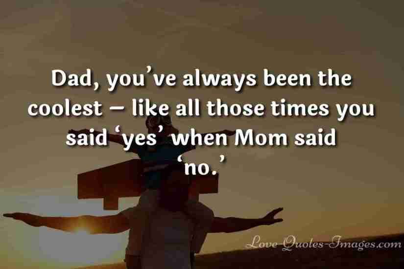 first fathers day quotes