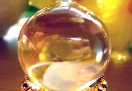 摩尼宝珠の水晶だよ♪