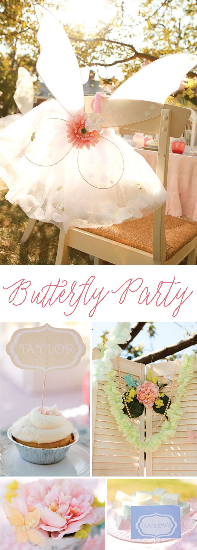 Vintage Butterfly Party by Lindi Haws of Love The Day