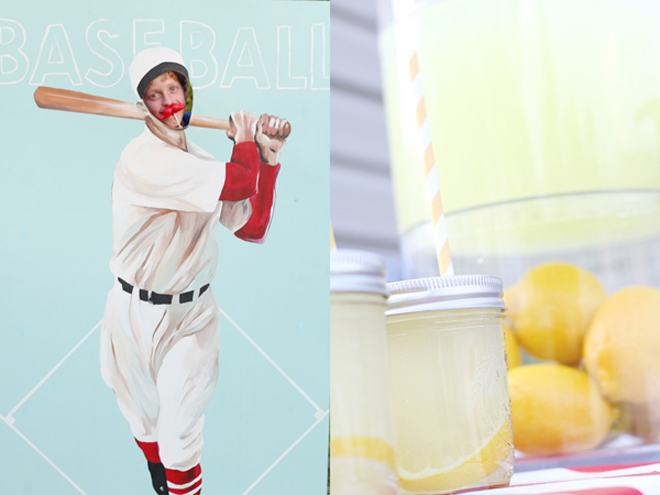 Baseball Birthday Party Feature on Love The Day