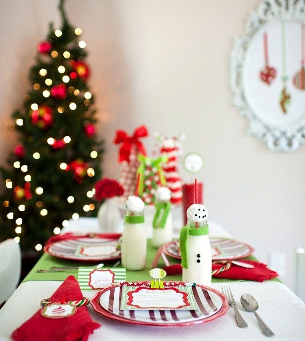 Kids Christmas Table on Love The Day