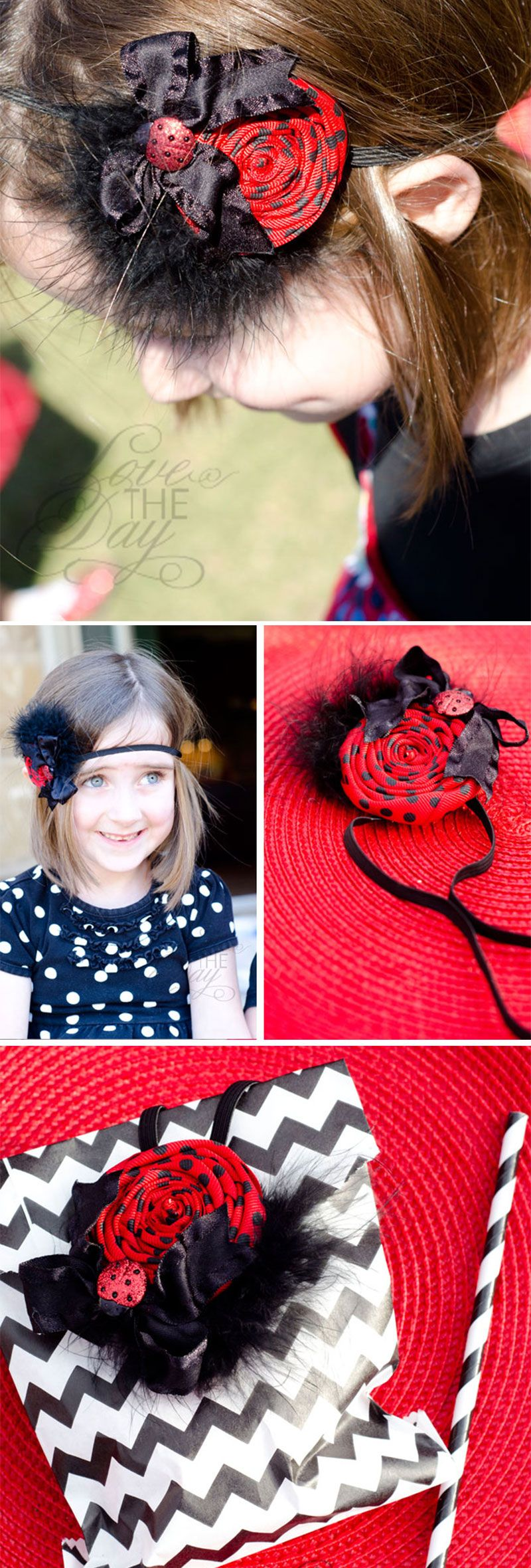 Ladybug Party Favors by Lindi Haws of Love The Day