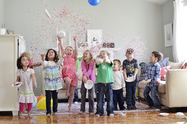 Confetti Birthday Party Feature on Love The Day